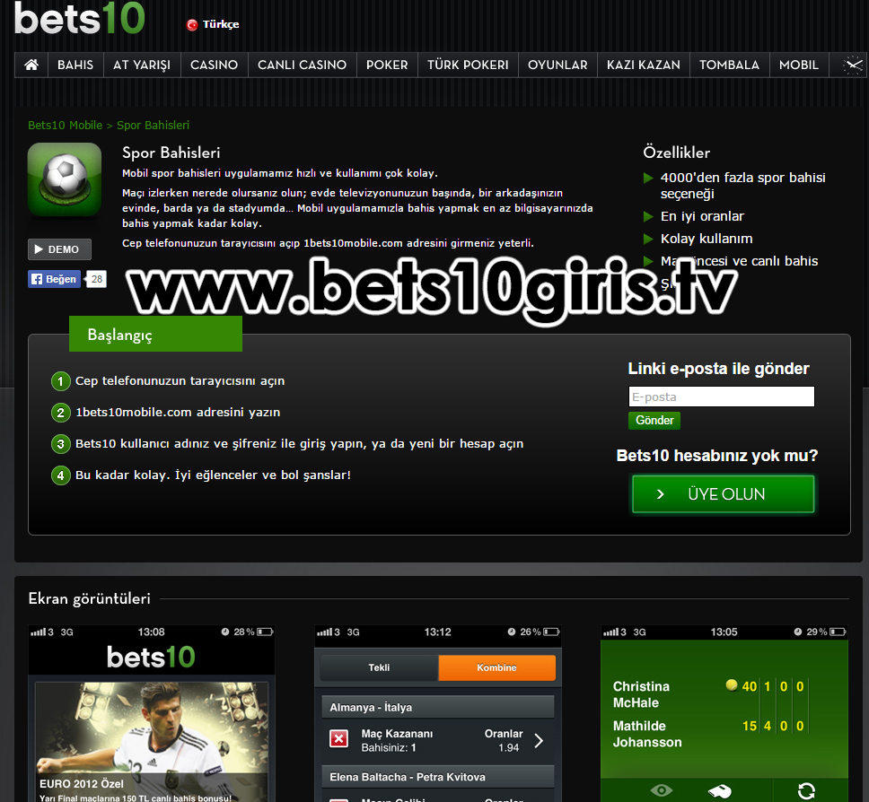 Bets10 Mobile Yeni Adres
