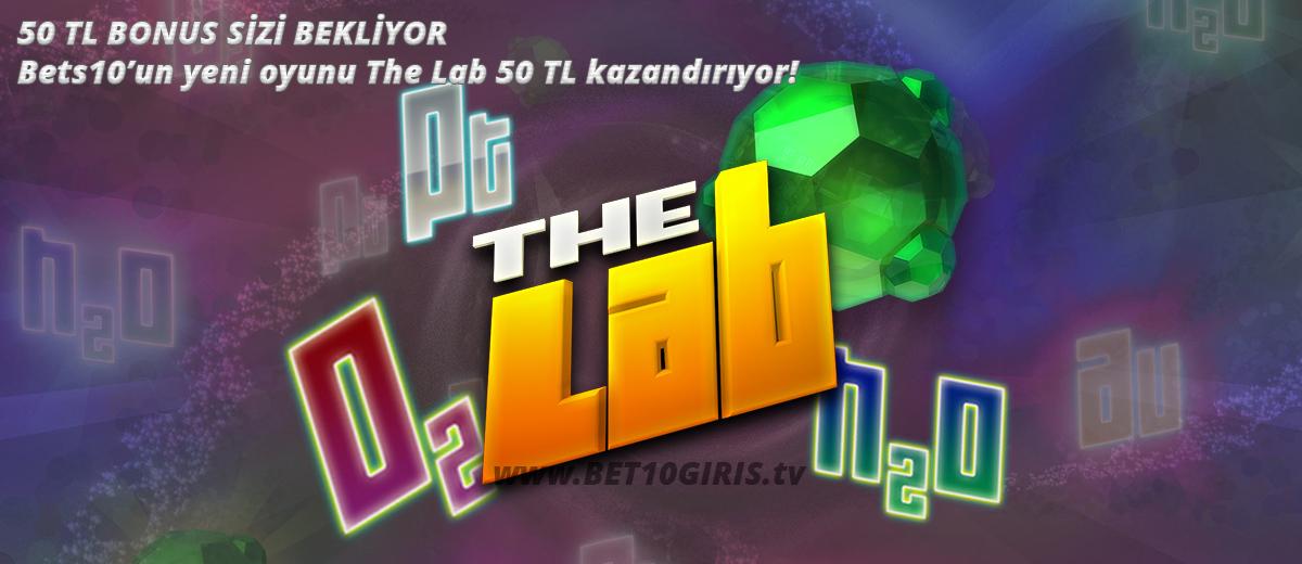 Bets10 The Lab 50 Tl Bonus Kazandırıyor